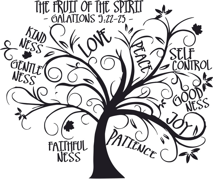 T14 - Fruit of Spirit - tree